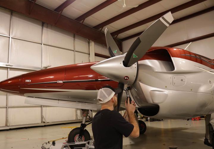 ceramic coating nashville aircraft